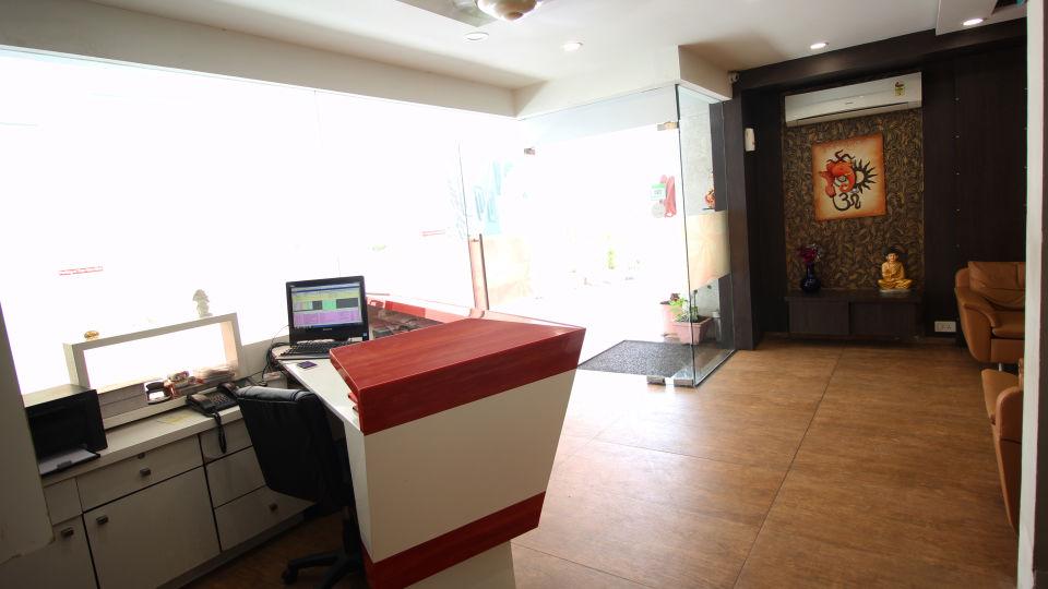 Reception Hotel Jyoti - Rajkot Gujrat 1