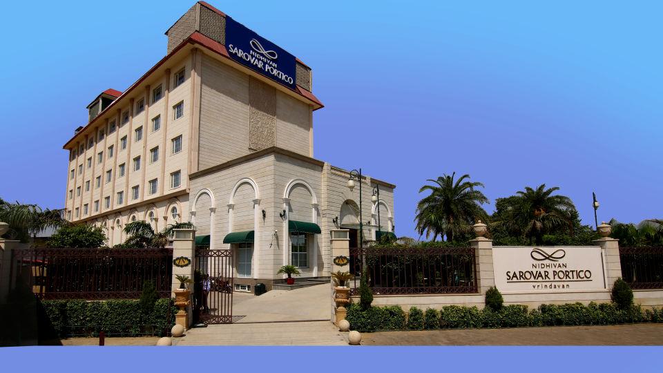 Hotel Nidhivan Sarovar Portico, Mathura Mathura Facade Shot HR