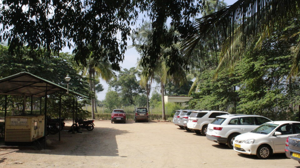 Parking Area at Hotel Presidency Bangalore
