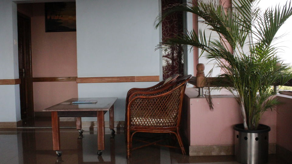 Terrace View at Hotel Presidency Bangalore 1