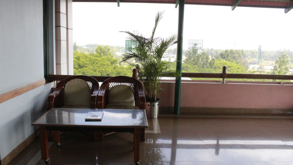 Terrace View at Hotel Presidency Bangalore 2