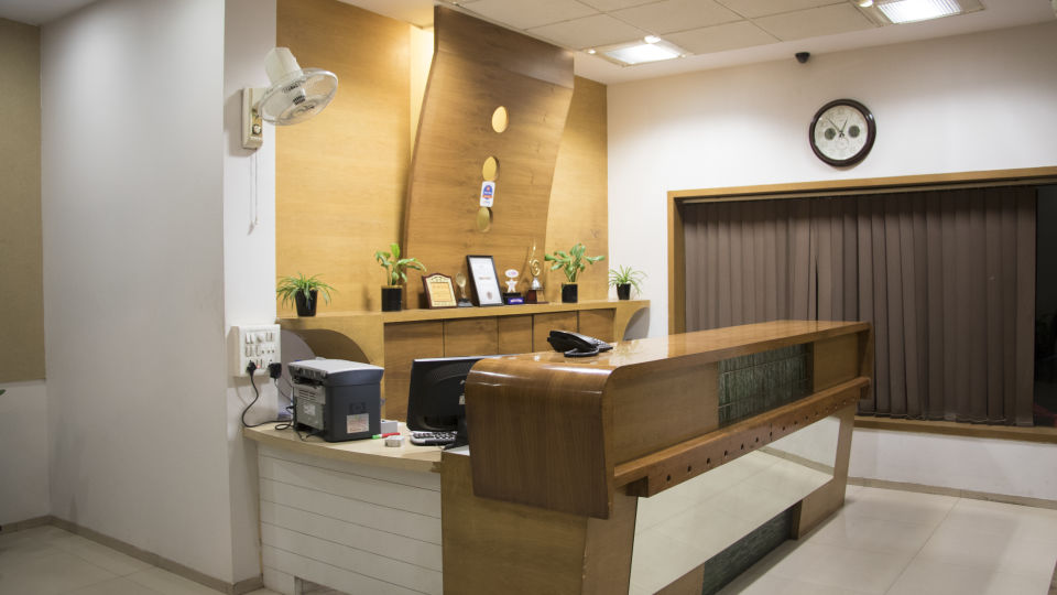Reception Kamfotel Hotel Nashik