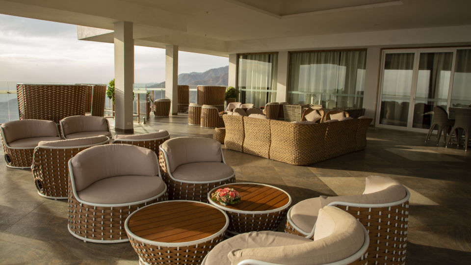 Terrace Open Air Bar at Timber Trail Heights and Terraces Resort Parwanoo 1
