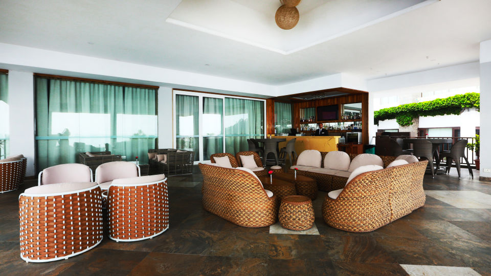 Terrace Open Air Bar at Timber Trail Heights and Terraces Resort Parwanoo 2