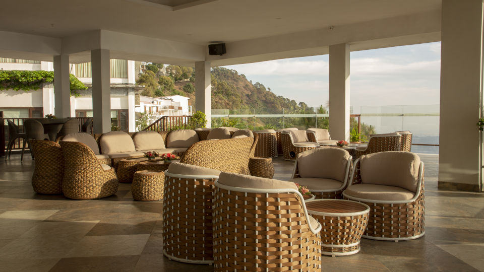 Terrace Open Air Bar at Timber Trail Heights and Terraces Resort Parwanoo 4