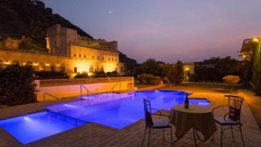 Swimming Pool at Bara Bungalow Kalwar, Jaipur 1, Best Villa in Jaipur