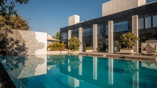 Karma Lakelands Swimming Pool in Gurgaon Resorts with Swimming Pool in Gurgaon Pool Villas in Gurgaon 9