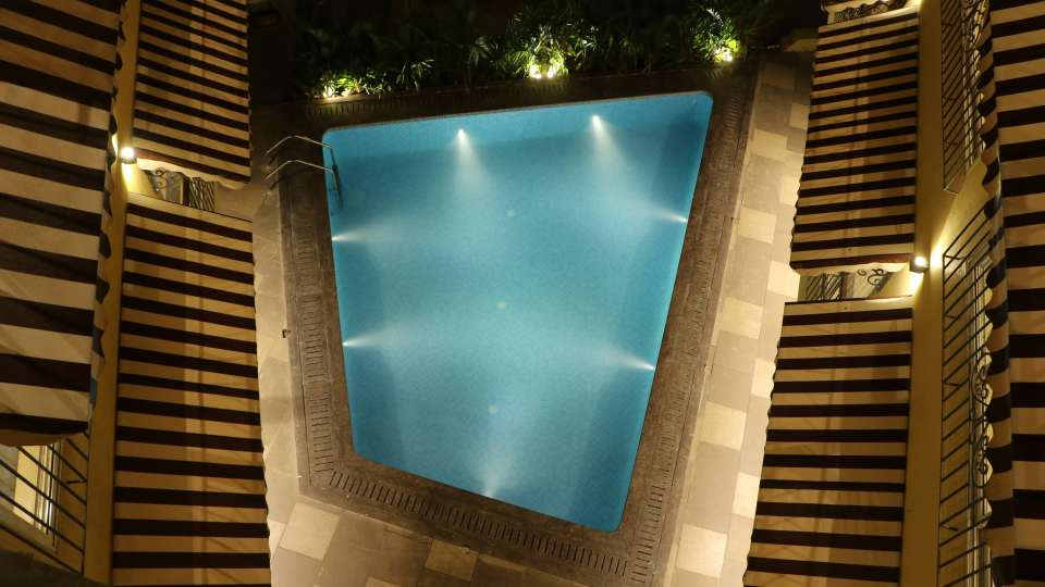 Swimming Pool at Amara Vacanza Grand Inn,  Resort near Calangute Beach, Goa beach resort