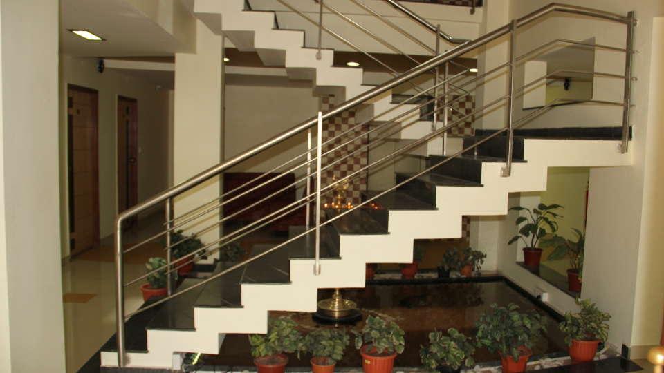 Hotel Arama Suites Bangalore lobby stairs 1 hotel arama suites bangalore