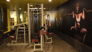 Fitness Centre at one of the best hotels in Patna