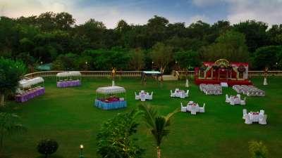 Clarks, Khajuraho Khajuraho Marriage Decor at Clarks Khajuraho 2