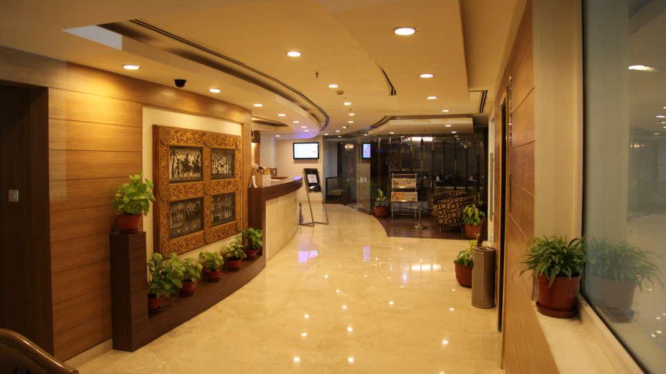 VITS Bhubaneswar Hotel Bhubaneswar Lobby 1- VITS Hotel Bhubaneshwar