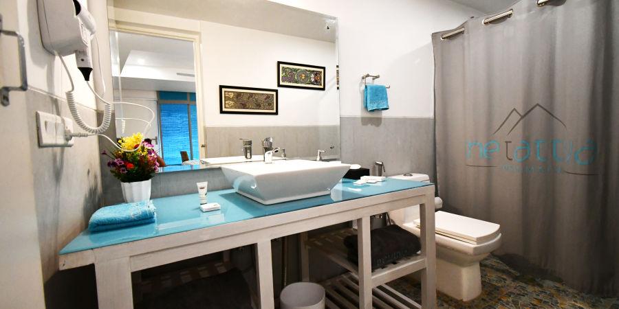 Premium rooms bathroom