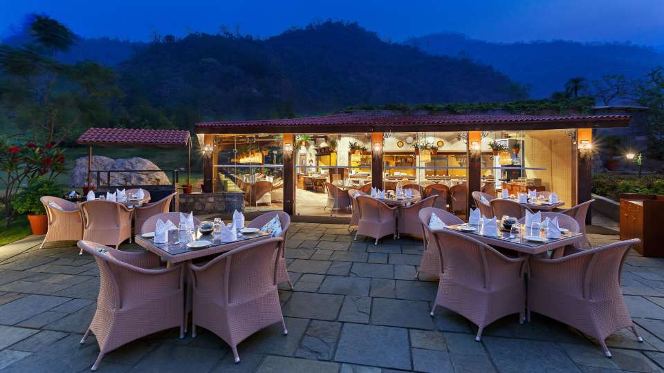 Restaurant- Aloha on the Ganges Rishikesh 2