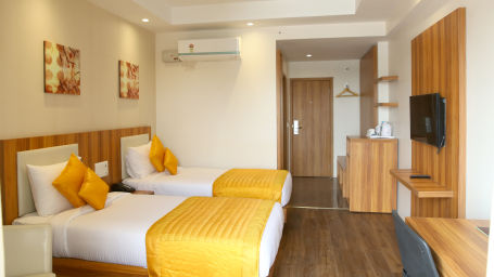 Le ROI Udaipur Hotel Udaipur Deluxe Silver Room 3 at Le ROI Udaipur Hotel
