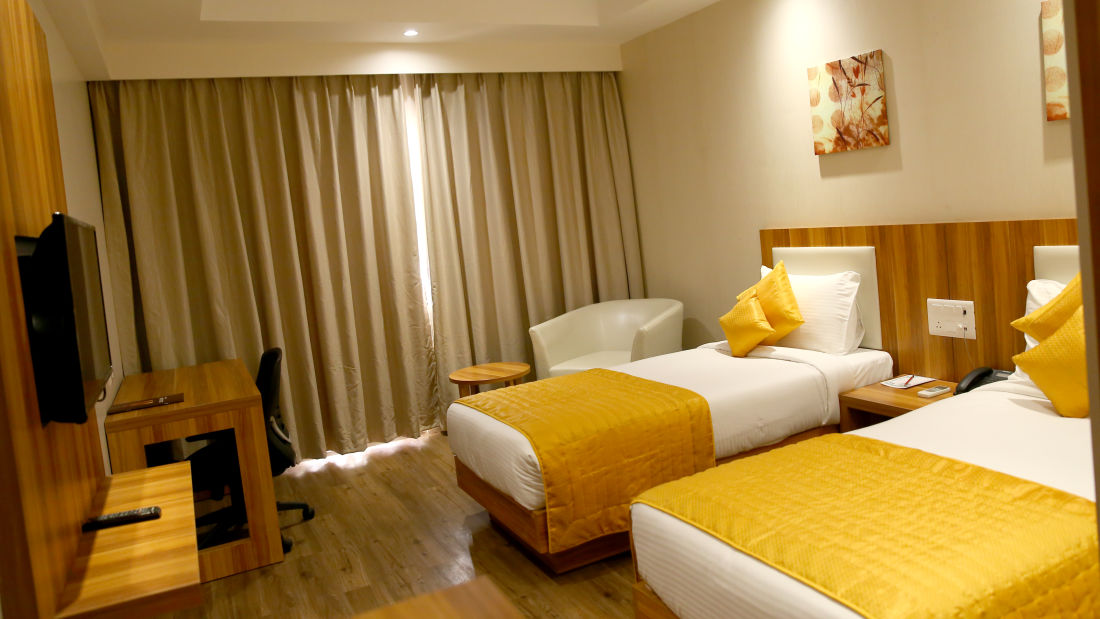 Le ROI Udaipur Hotel Udaipur Deluxe Silver Room 1 at Le ROI Udaipur Hotel
