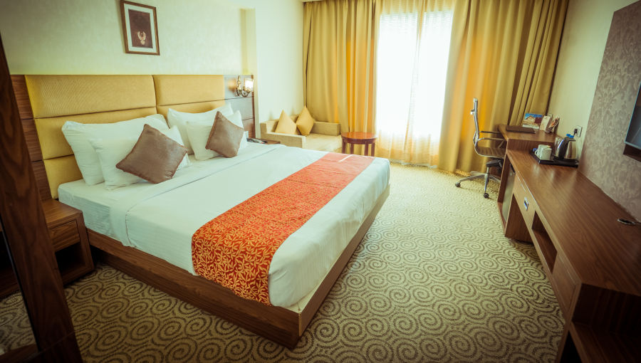 alt-text Pride Deluxe, Pride Hotel, Hotels in Indore