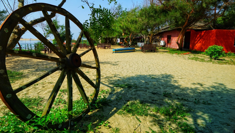 alt-text Lotus Eco Resort Konark, Resort near sun temple Konark, Puri Hotels 116
