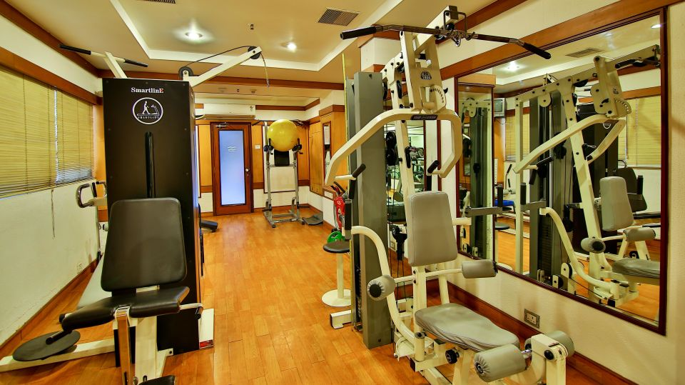 Gym at Gokulam Park Hotel Convention Centre Cochin