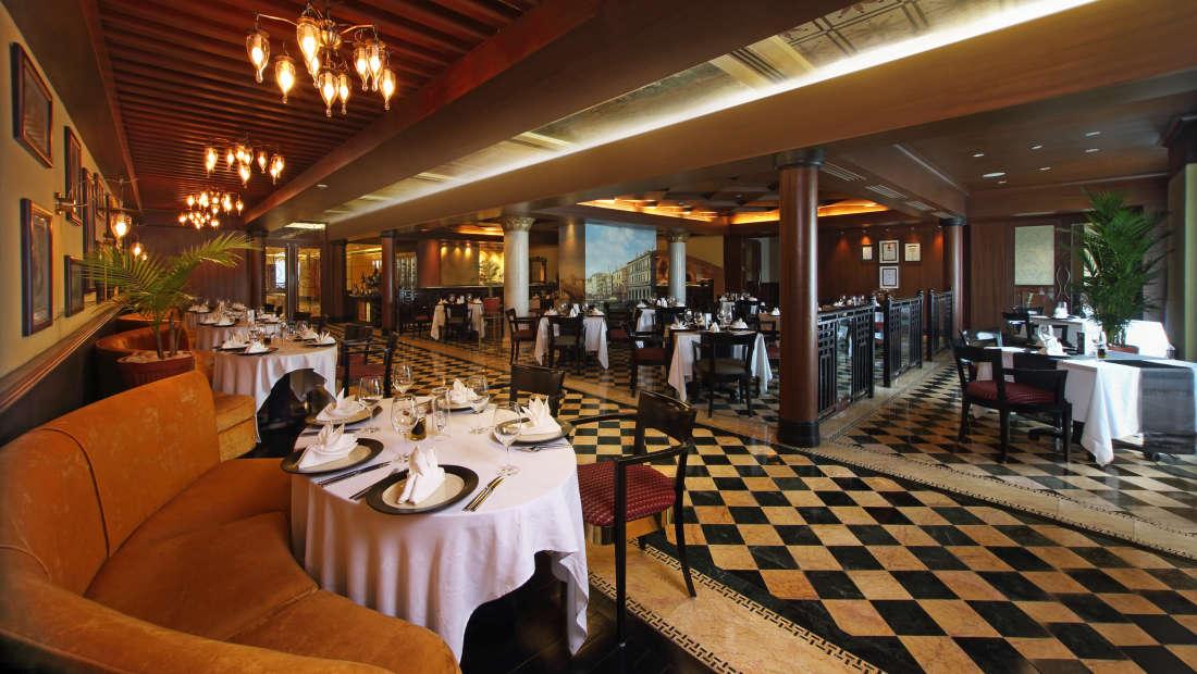 Mezzaluna Restaurant Hotel Gokulam Grand Bangalore