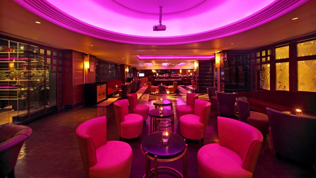 Obsidian Sports Bar Hotel Gokulam Grand Bangalore