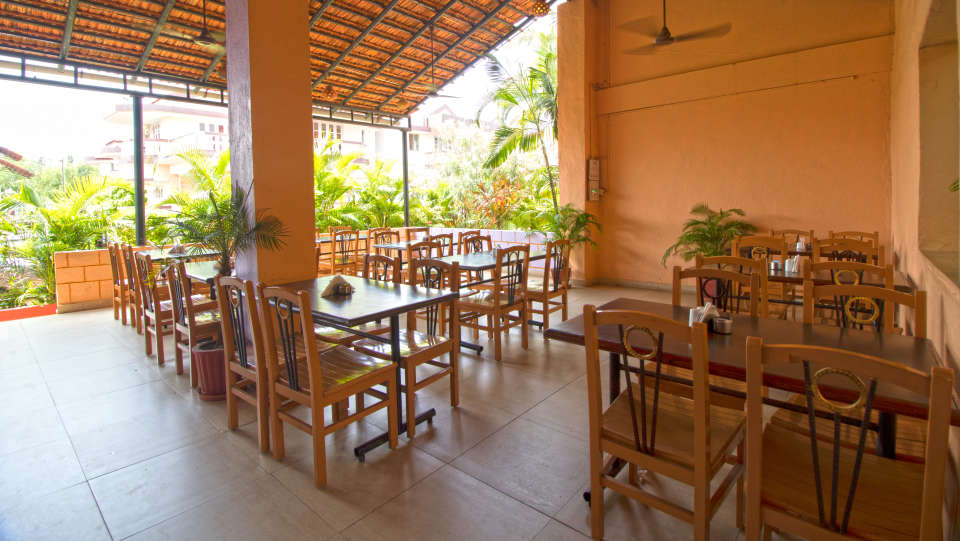 Sea Wave Multi-Cuisine Restaurant in Goa at Lotus Eco Beach Resort Benaulim Goa in Benaulim 10