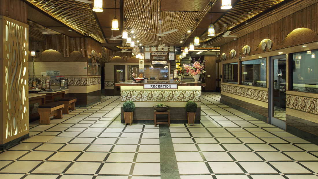 Hotel Hari Piorko - Paharganj, New Delhi New Delhi Reception Hari Piorko Paharganj New Delhi 2