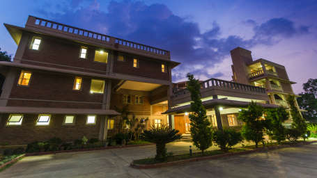 Saiacs CEO center  Hotel SAIACS CEO Centre Bangalore - Front Pic