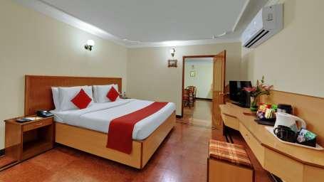 Premium Garden Suite at Hotel SRM Chennai