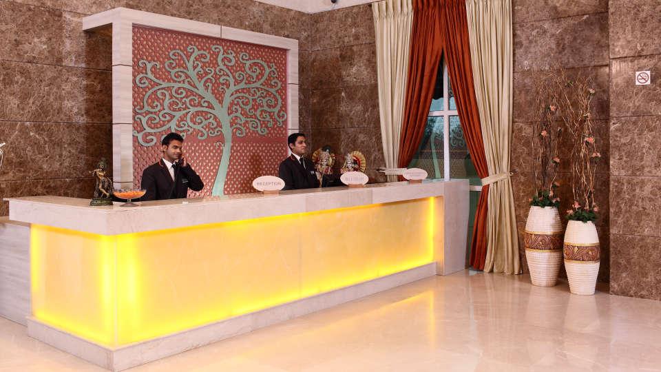 Hotel Nidhivan Sarovar Portico, Mathura Mathura Reception- -Lobby -Hotel-Sarovar-Portico -Mathura- 1