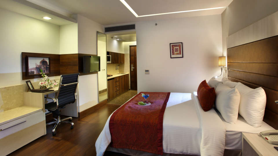 Studio at Mahagun Sarovar Portico Vaishali, best hotels in vaishali 2