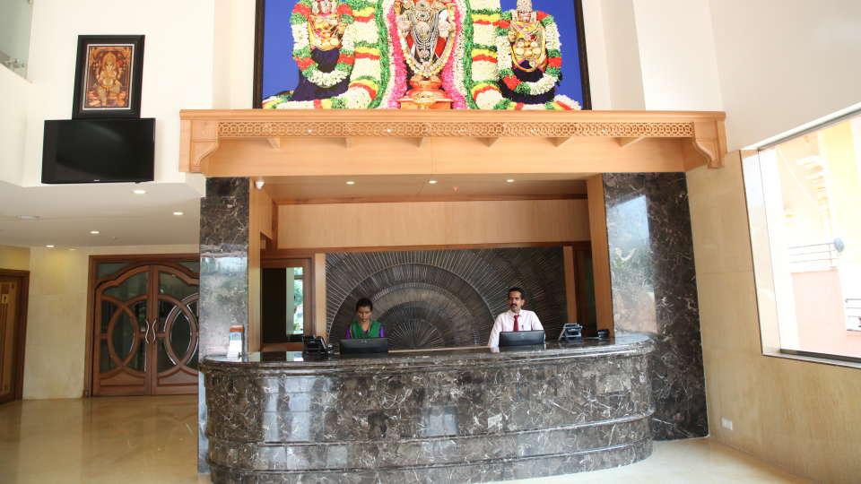Raj Park Hotel - Tirupati Tirupati Lobby Raj Park Hotel Tirupati 1