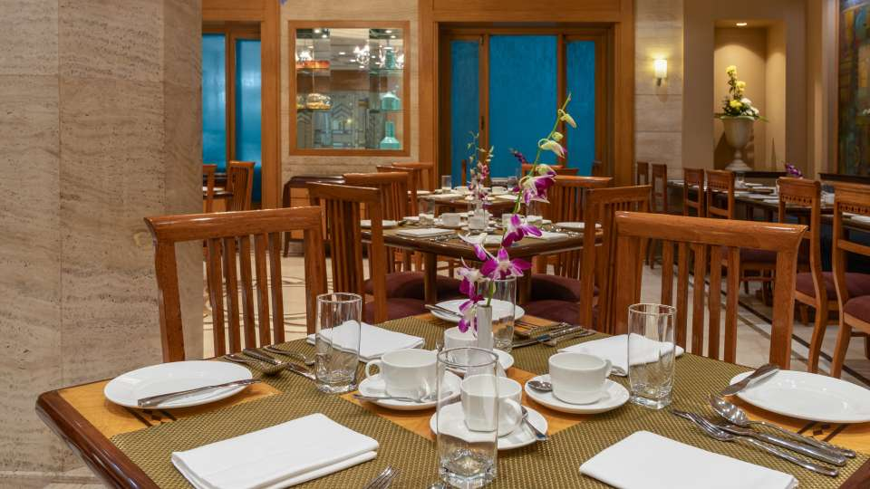 Kalupur Restaurant Table Closeup