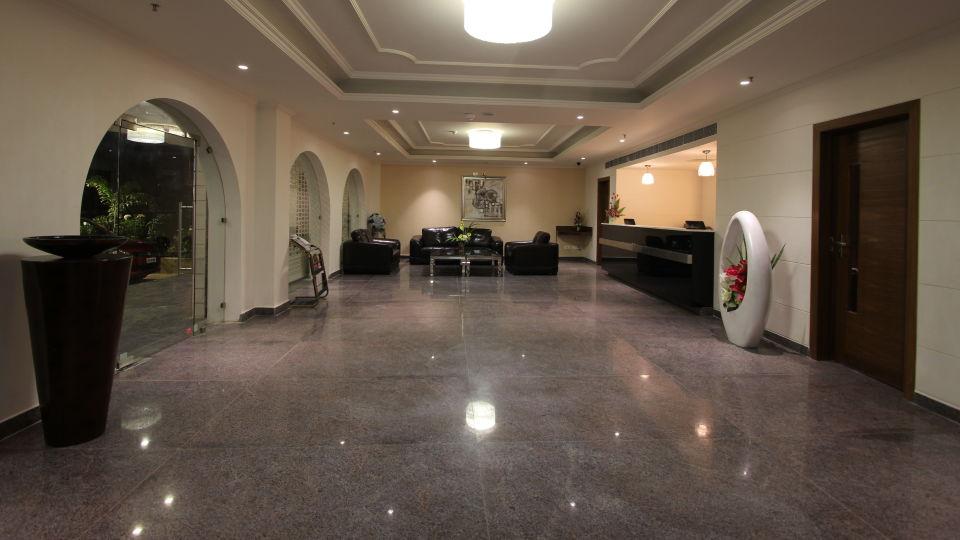 Hotel Hyderabad Grand Hyderabad Lobby Reception Hotel Hyderabad Grand Telengana 5