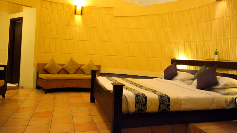 Kadkani Riverside Resorts, Coorg Coorg Den Room Kadkani River Resort Coorg 5