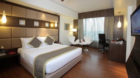Premier Room at Hotel Daspalla Hyderabad