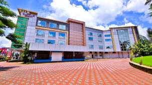Exterior of Sree Gokulam Residency, luxury hotels in thrissur, amballur hotels  6