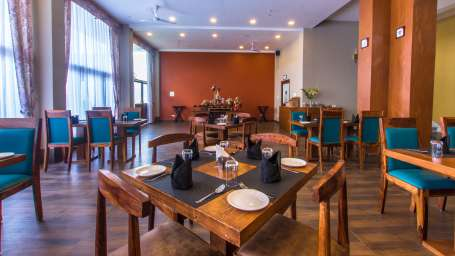 restaurant at Mount Himalayan Hotel and Spa 5