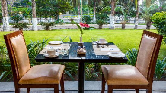 Dining at Radha Hometel Bangalore, resorts in bangalore 1