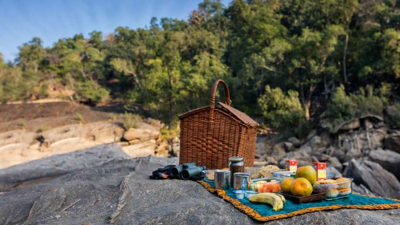Churna camping at satpura national park- near reni pani-jungle lodge in madhya pradesh