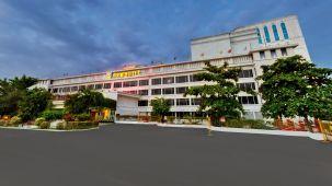 Facade SRM Hotel Chennai Best hotels in Chennai