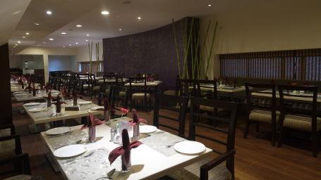 Dimple restaurant at Hotel Daspalla Visakhapatnam