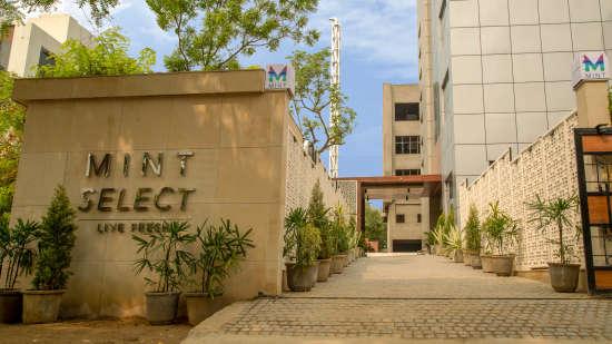 Facade of the Mint Select, Noida, Hotel Mint Select, Noida