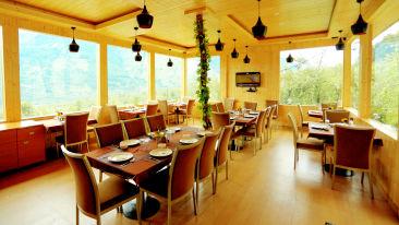 In-house Restaurant 2 at Amara Resorts in Manali, Luxury Resort in Manali