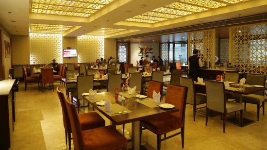 dining at The PL Palace Hotel Agra