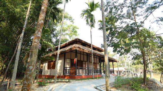 Exterior View of the Cottage at Infinity Resorts Kaziranga, Rooms in Kaziranga 2