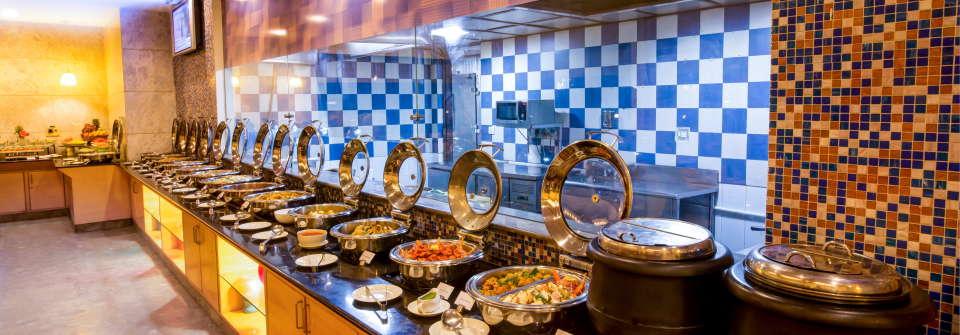 Dining Radha Hometel Bangalore 5