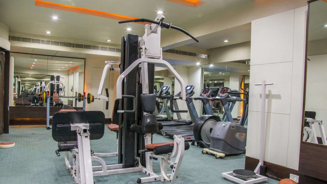 Hotel Bliss Luxury Hotel in Tirupati Online Booking Gym 4