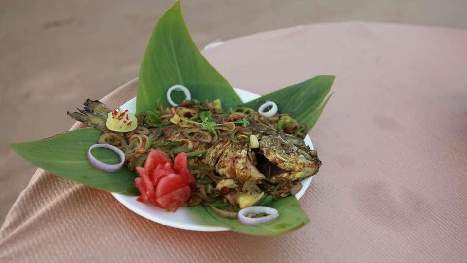 Konark Sea Food at Kushavadra Restaurant in Lotus Eco Resort Konark
