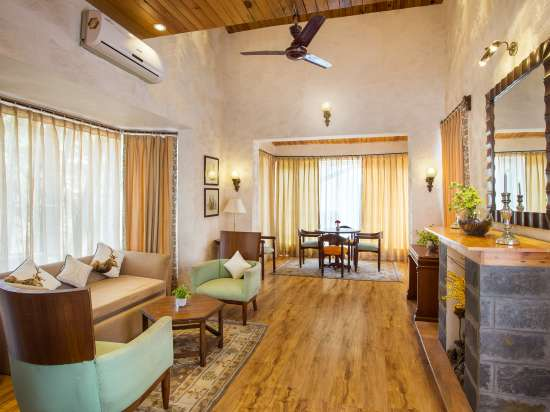 Living Area-The Bungalows Lake Side Premium Naukuchiatal